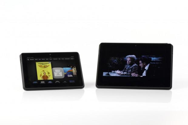 Die neuen Kindle Tablets Fire HDX und Fire HDX 8.9 von Amazon (Bild: Tobias Költzsch/Golem.de)