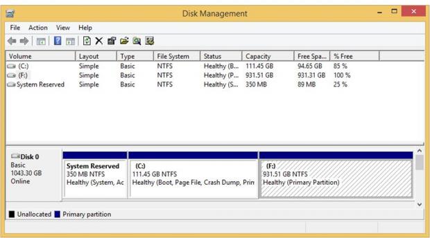 In der Laufwwerksverwaltung gibt es ein Device mit mehreren Partitionen. (Bilder: WD)