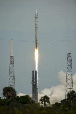Start der Maven an Bord einer Atlas-V-Trägerrakete am 18. November 2013 (Foto: Nasa)