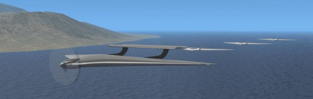 Das Multi-Modal Vehicle kann fliegen, ... (Grafik: Sandia Laboratory)