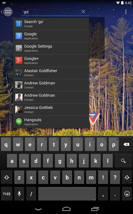 Android: Action Launcher in neuer Version erstmals gratis - Action Launcher 2.0 (Bild: Chris Lacy)