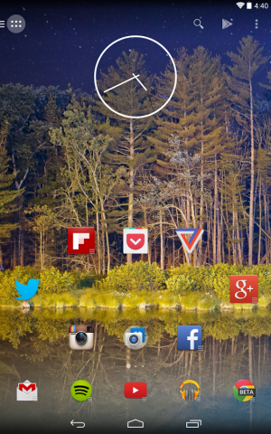 Action Launcher 2.0 (Bild: Chris Lacy)