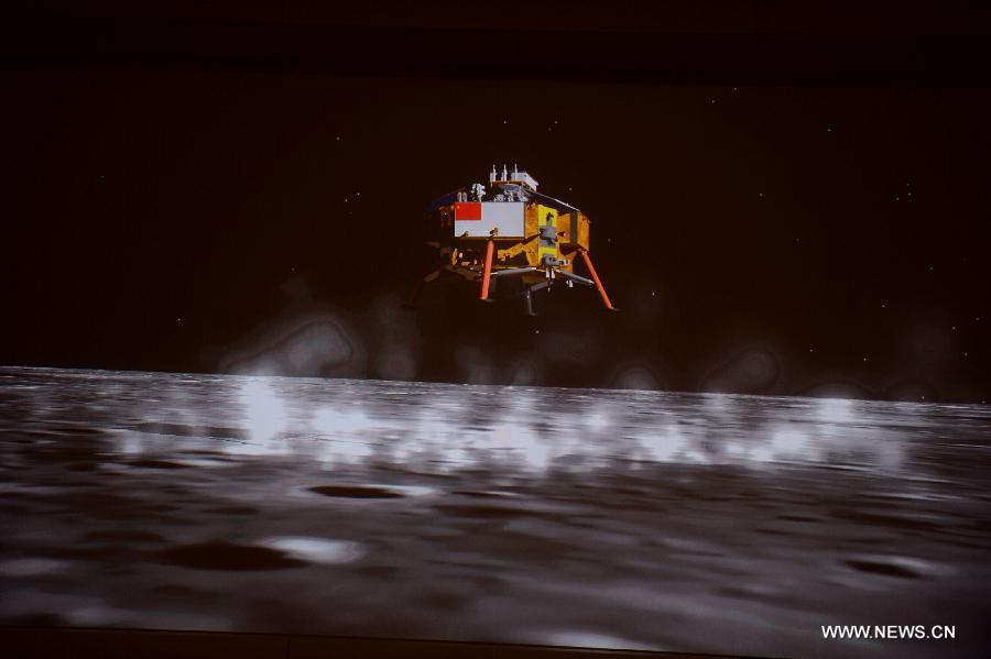 Chinesische Mondsonde: Der Jadehase ist gelandet - Chang'e 3 (Bild: News.cn)