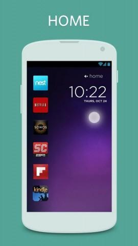 Der alternative Sperrbildschirm Cover lernt, welche Apps der Nutzer in bestimmten Situationen benutzt. (Bild: Cover)