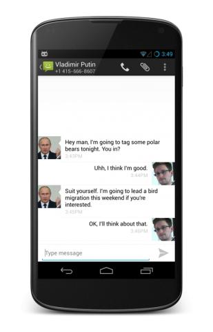Verschlüsselte SMS in Cyanogenmod (Bild: Cyanogenmod)