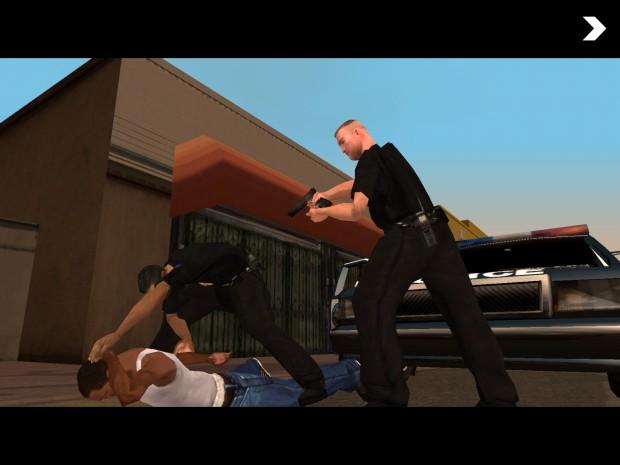 GTA San Andreas für iOS (Screenshots: Golem.de)