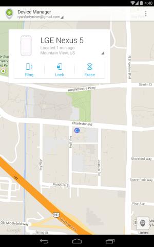 Gerätemanager-App für Android (Bild: Google)
