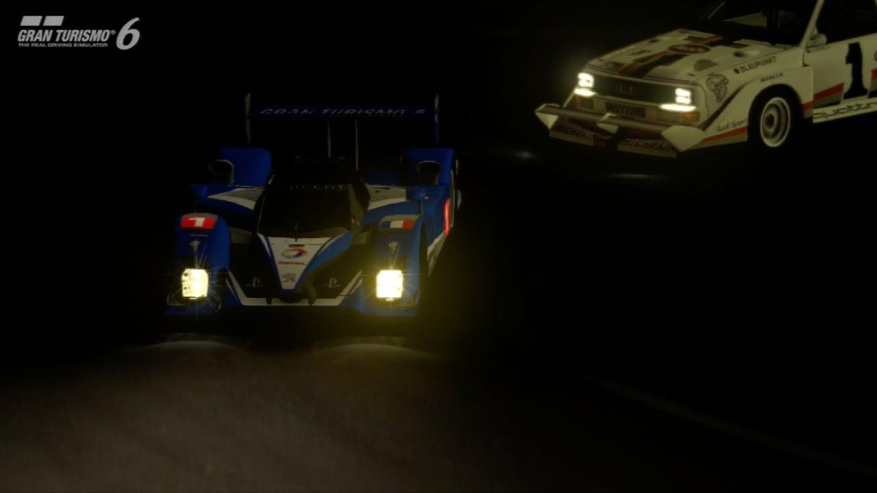 Gran Turismo 6 im Test: Fahrspaß bei Tag, Nacht, Wind und Wetter - So dunkel kann es in GT6 werden.
