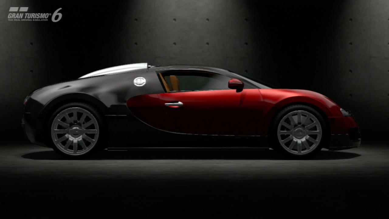 Gran Turismo 6 im Test: Fahrspaß bei Tag, Nacht, Wind und Wetter - Der Bugatti Veyron im Showroom