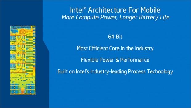 2014 und 2015 setzt Intel auf mehrere 64-Bit-SoCs für Tablets und Smartphones. (Bild: Intel)