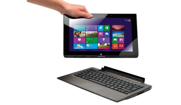 akoya p2211t windows tablet mit tastatur und 500 gbyte. Black Bedroom Furniture Sets. Home Design Ideas