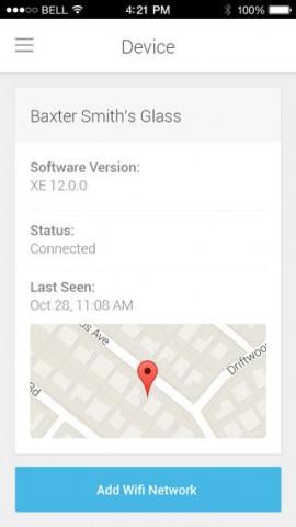 Myglass für iOS (Bild: Google)