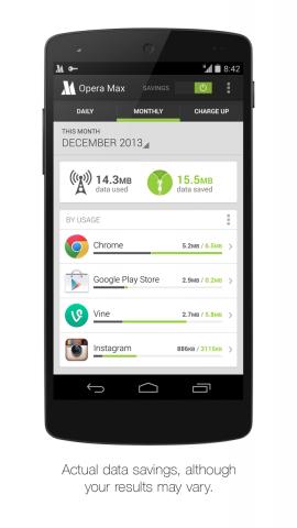 Opera Max für Android (Bild: Opera Software)