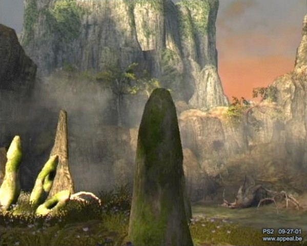 Outcast 2 The Lost Paradise für die Playstation 2 (Screenshot: Franck Sauer)