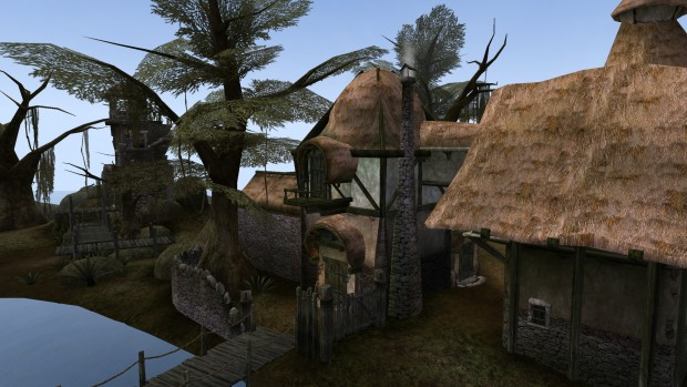 Seyda Neen in Morrowind (Screenshot: Marc Sauter/Golem.de)