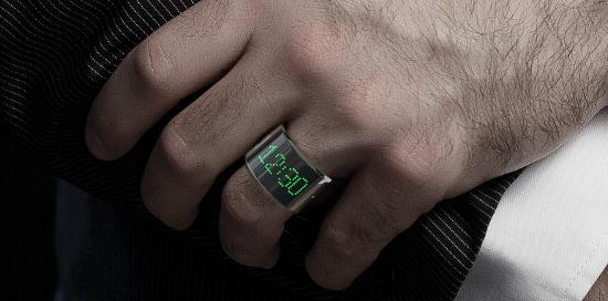 Smarty Ring: Smarter Ring mit Bluetooth und Minidisplay - Smarty Ring (Bild: Kickstarter)