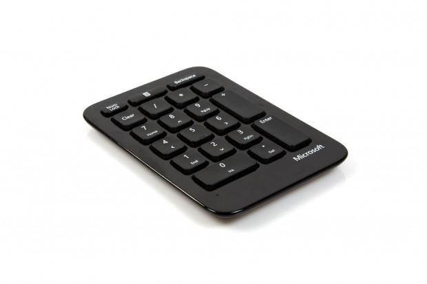 Die Zahlentastatur des Sculpt Ergonomic Desktop (Bild: Nina Sebayang/Golem.de)