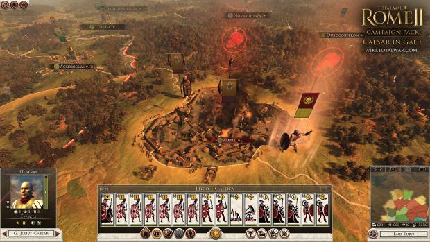 """Erweiterung """"Cäsar in Gallien"""" für Total War - Rome 2 (Bilder: Creative Assembly)."""