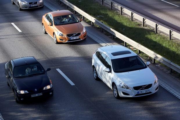 Autonom fahrender Volvo (Bild: Volvo)