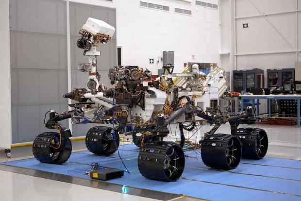 Marsrover Curiosity: Original... (Bild: Nasa)