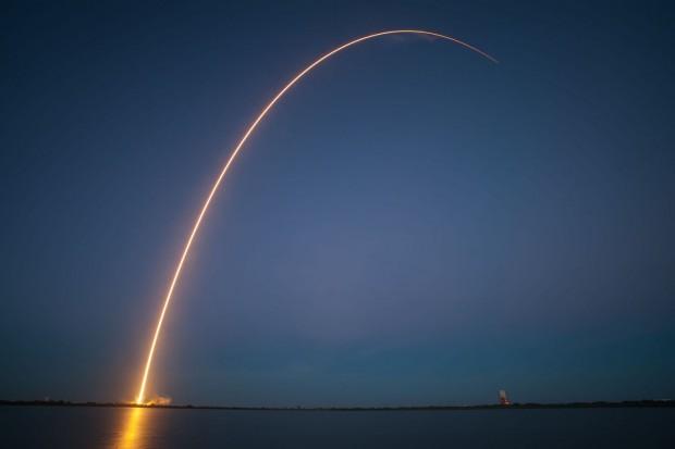 """Start der Falcon 9v1.1 am 3. Dezember 2013 - laut SpaceX war es ein """"Bilderbuchflug"""". (Foto: SpaceX)"""