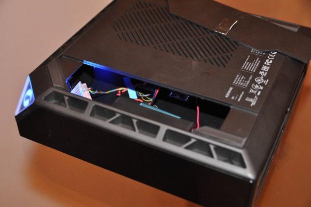 Die Steam Machine von Alienware als Gehäuse-Mockup (Foto: Nico Ernst/Golem.de)