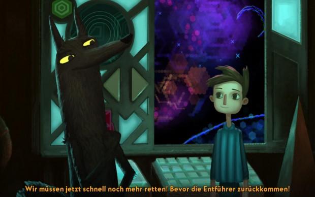 Ein merkwürdiger Wolf bringt Shay auf neue Ideen...