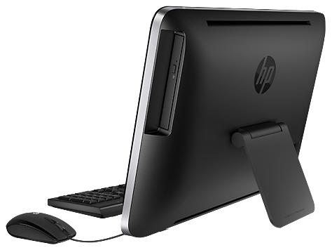 Das HP 205 besitzt ein CD-Laufwerk.
