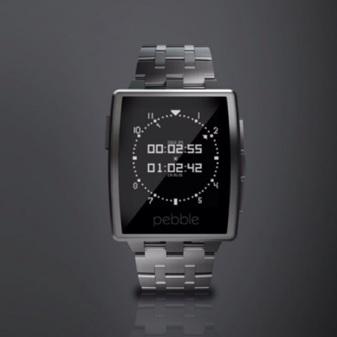 Pebble Steel (Bild: Pebble)