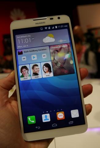 Das Huawei Ascend Mate 2 4G (Bild: Marc Sauter/Golem.de)