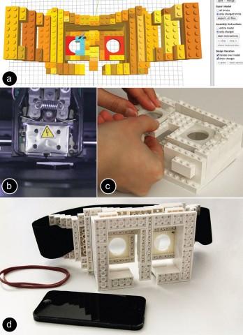 Herstellung einer 3D-Brille per Fabrickation (Bilder: Stefanie Müller/Hasso-Plattner-Institut)