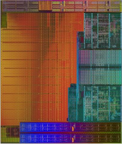Die-Shot von Kaveri (Bild: AMD)