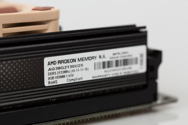 Das AMD-System verfügt über insgesamt 16 GByte DDR3-2133-Arbeitsspeicher. (Bild: Tobias Költzsch/Golem.de)