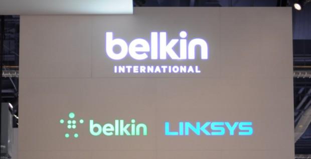 Auf der CES 2014 präsentierte sich Belkin mit beiden Netzwerkmarken. (Foto: Andreas Sebayang/Golem.de)