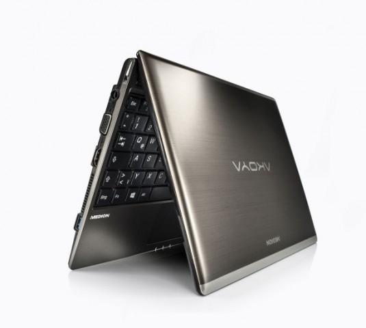 Das Touch 10 auf Basis des Akoya E1317T (Bild: Medion)