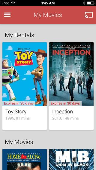Play Movies & TV: Google bringt seine Film-App auf iPhones und iPads -