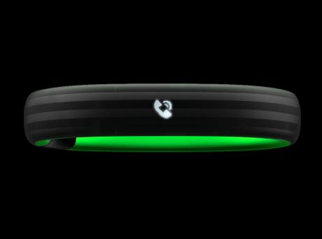 Razer Nabu: Smartes Armband mit zwei Bildschirmen - Oberes Display des Razer Nabu (Bild: Razer)