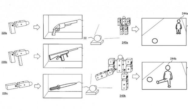 Bilder aus der Patentschrift (Bilder: Sony)