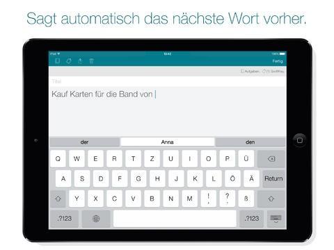 Swiftkey-Note für iOS (Bild: Swiftkey)