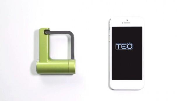 Vorhängeschloss Teo (Bild: Kickstarter)
