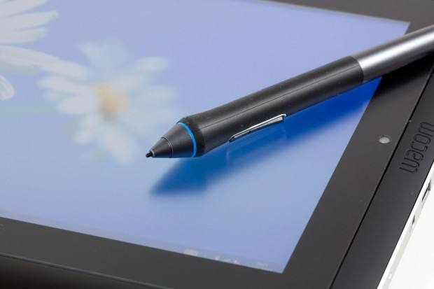 Der Stift für das Grafiktablet (Foto: Nina Sebayang/Golem.de)