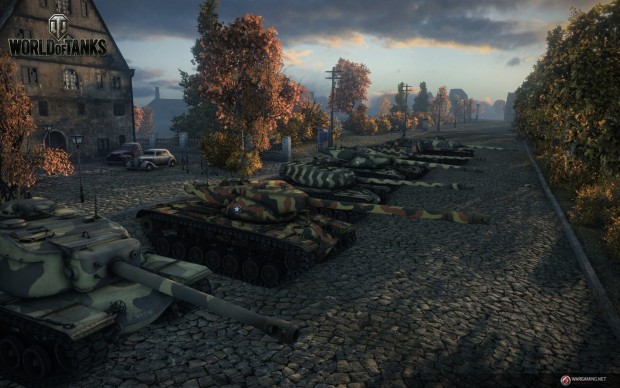Bilder aus World of Tanks 8.11 (Screenshots: Wargaming)