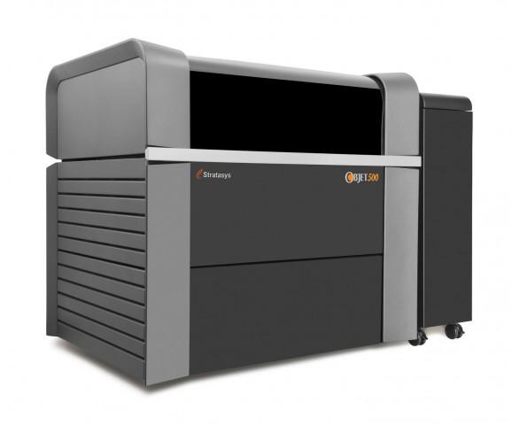 Der 3D-Drucker Objet500 Connex3 von Stratasys... (Bild: Stratasys)