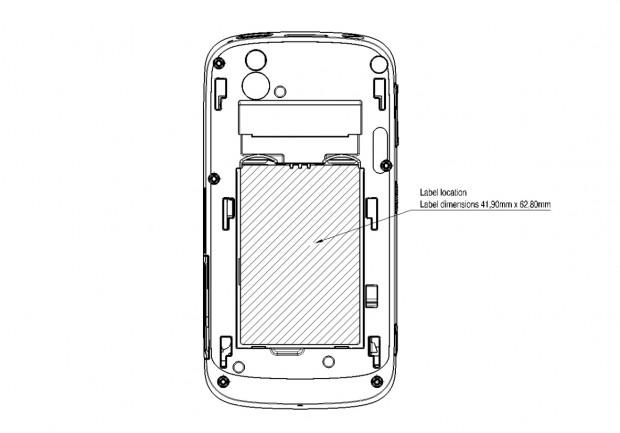 Boeings Sicherheitssmartphone in einer schematischen Zeichnung (Bild: Boeing/FCC)