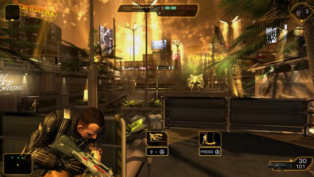 PC-Version von Deus Ex: The Fall (Bilder: Square Enix)