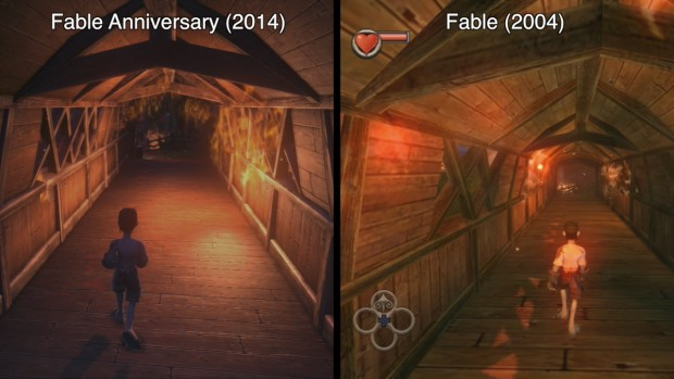 Fable: Anniversary (2014) im Vergleich mit Fable (2004)
