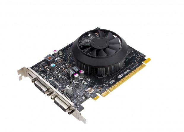 Die Geforce GTX 750 Ti im Referenzdesign (Bild: Nvidia)