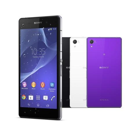Das Smartphone hat einen 5,2 Zoll großen Bildschirm mit Full-HD-Auflösung. (Bild: Sony)