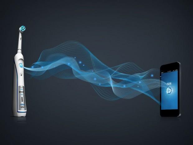 Bluetooth-Zahnbürste mit Smartphone-Anbindung (Bild: Oral-B)
