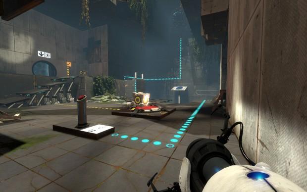 Portal 2 (Screenshot: Marc Sauter/Golem.de)